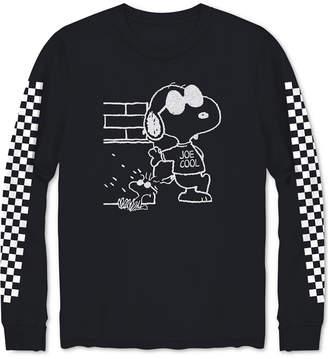 Hybrid Men's Snoopy Checkered T-Shirt
