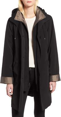 Gallery Detachable Hood & Liner Raincoat