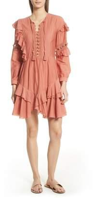 Sea Weatherly Crochet Pompom Dress