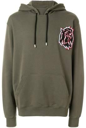 Versus embroidered tiger hoodie