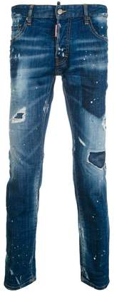 DSQUARED2 City biker jeans