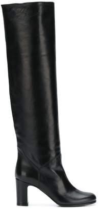 L'Autre Chose mid-heel knee boots