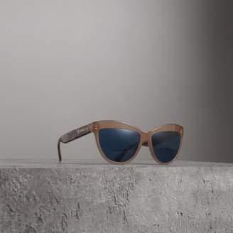 Burberry Doodle Cat-eye Frame Sunglasses