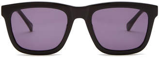Karen Walker Deep Freeze Black Sunglasses