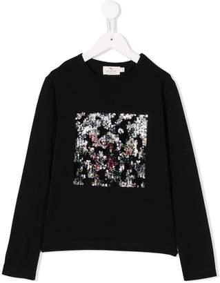 Andorine embellished long sleeve T-shirt