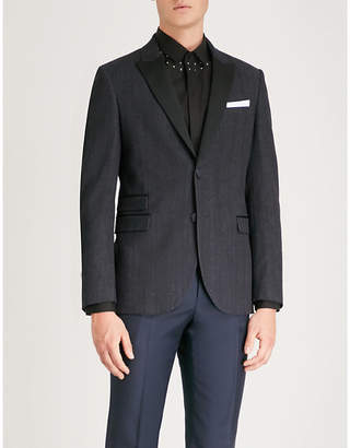 Neil Barrett Slim-fit single-breasted denim blazer