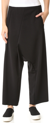 MM6 Cropped Asymmetrical Pants $375 thestylecure.com