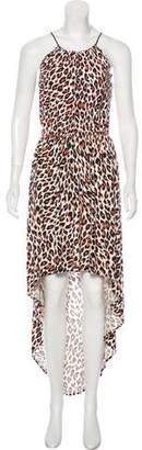 Milly Sleeveless Silk Maxi Dress