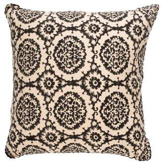 Madeline Weinrib Mother of Pearl-Embellished Throw Pillow
