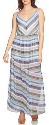 CeCe Jordan Stripe Maxi Dress