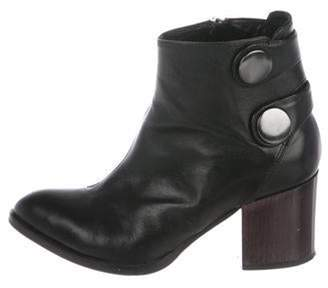 Alberto Fermani Leather Ankle Boots Black Leather Ankle Boots