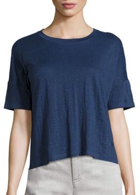 Eileen Fisher Roundneck Box Top $118 thestylecure.com