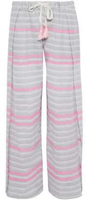Lemlem Striped Cotton-Gauze Pants