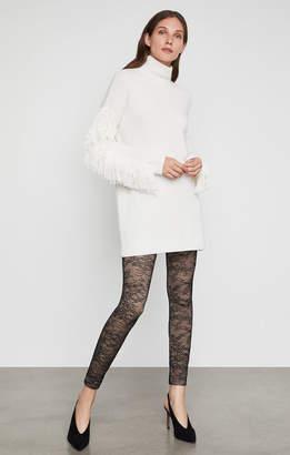 BCBGMAXAZRIA Lace Illusion Legging