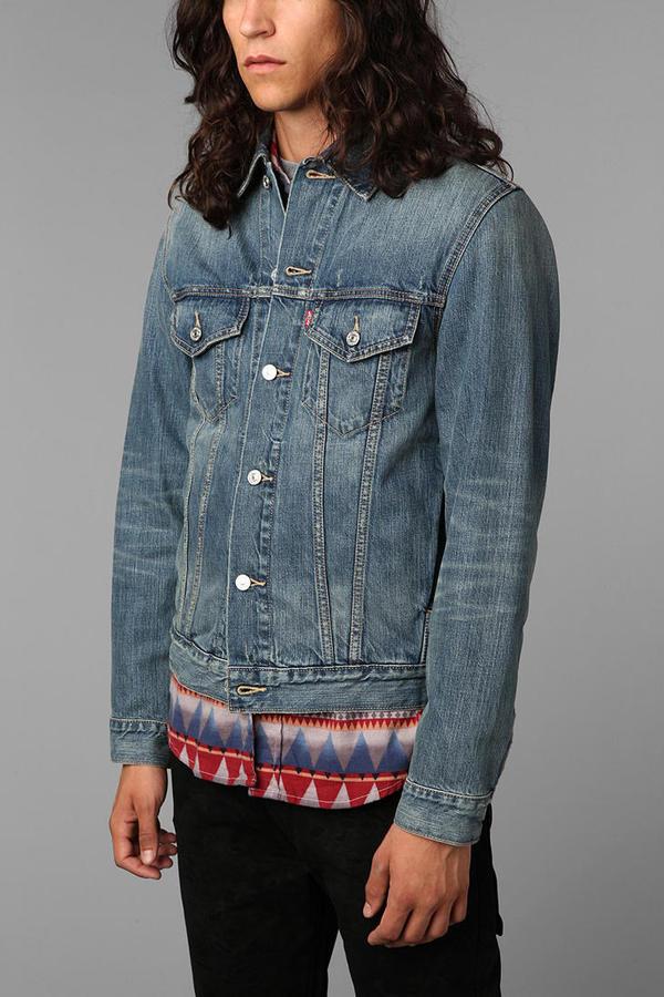 Levi's Ghost Denim Trucker Jacket