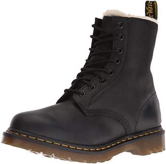 Dr. Martens Women's Serena Burnished Wyoming Leather Fashion Boot