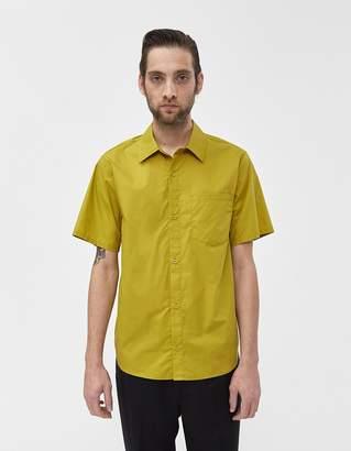 8c2247c4 Need S/S Sile Poplin Shirt in Mustard Green