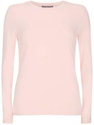Mint Velvet Blush Long Sleeved T-Shirt