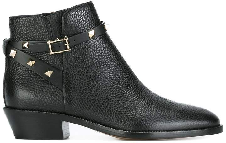 Valentino Garavani 'Rockstud' ankle boots