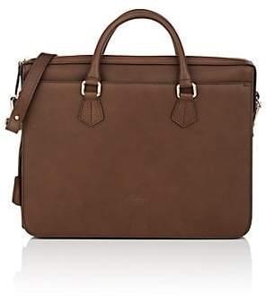 Boldrini Selleria Men's Leather Briefcase - Brown