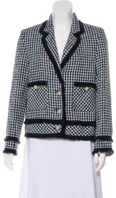 Helene Berman Tweed Notch-Lapel Blazer w/ Tags