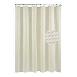 +Hotel by K-bros&Co Waffle Weave Fabric Shower Curtain – Spa