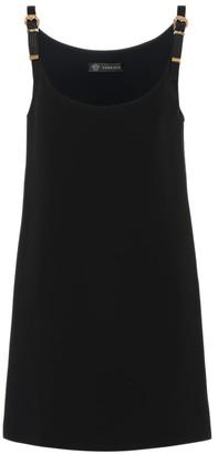 Versace Silk crepe minidress