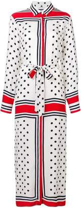 P.A.R.O.S.H. polka dot shirt dress
