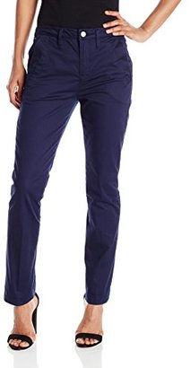 G-Star Raw Women's Bronson Mid Rise 3D Cropped Flare Leg Chino in King Stretch $120 thestylecure.com