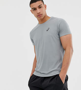 Asics short sleeve top in grey
