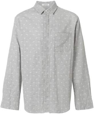 Engineered Garments paisley print shirt