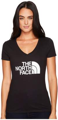 The North Face Half Dome V-Neck S/S Tee Women's T Shirt