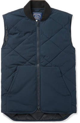 J.Crew Nordic Quilted Jersey Gilet
