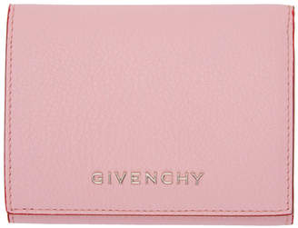 Givenchy Pink Pandora Trifold Wallet