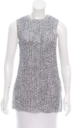 Theory Sleeveless Chunky Knit Top