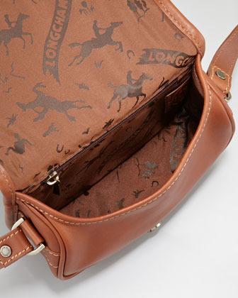 Longchamp Au Sultan Crossbody Bag, Cognac