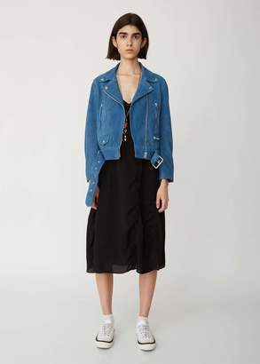 Acne Studios Mock Suede Lamb Leather Jacket