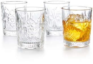 Bormioli Stone Double Old Fashioned Glasses, Set of 4