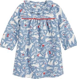 Boden Mini Christmas Jersey Dress