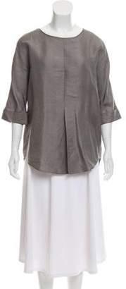 Joseph Linen & Silk-Blend Top