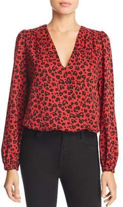 Lucy Paris Leopard Print Bodysuit
