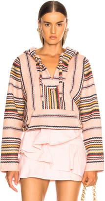 Alanui Baja Striped Sweatshirt