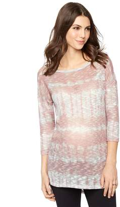 A Pea in the Pod Hacci Back Keyhole Maternity Top