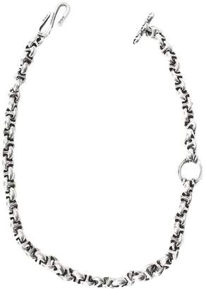 HOORSENBUHS 10mm Sterling Silver Wallet Chain With Diamonds