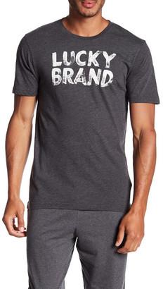 Lucky Brand Short Sleeve Logo Tee $21.50 thestylecure.com
