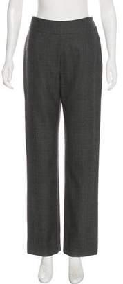 Christian Dior High-Rise Straight-Leg Pants