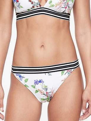 Athleta Gold Coast Floral Banded Bottom