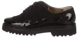 Walter Steiger Suede Lace-Up Oxfords