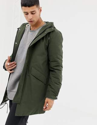 Selected thinsulate padded parka