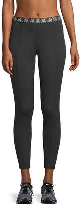 Armani Exchange Women's Pintuck Logo Leggings